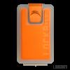 Lockbox Transp-Naranjas