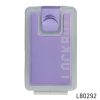 Lockbox Transp-Lilas