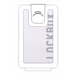 Carcasa Blanca Lockbox