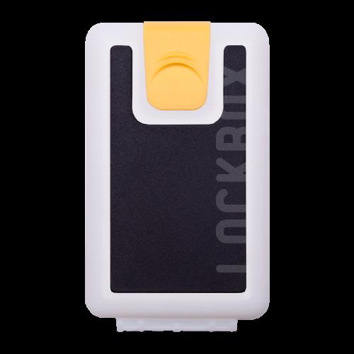 Lockbox WS Black Shells clip amarillo
