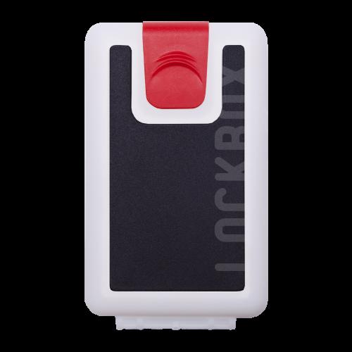 Lockbox WS Black Shellsclip rojo