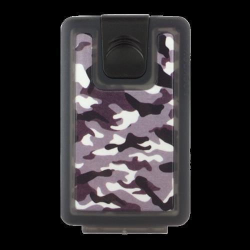 Lockbox Camo antracita clip negro