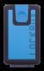 Lockbox BS Color Shells azul