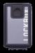 Lockbox Transp Grey Silver plata clip negro