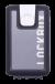 Lockbox Transp Grey Silver plata clip blanco