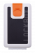 Lockbox WS Black Shells clip naranja