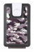 Lockbox Camo antracita clip blanco