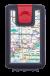 Lockbox Metro Barcelona. Clip cierre rojo.