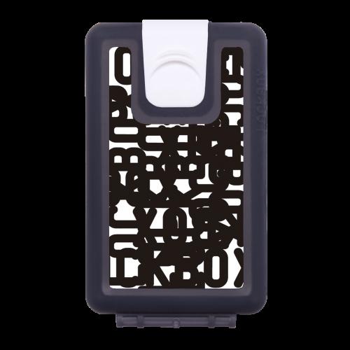 Lockbox Black Lockbox Logotype White Background